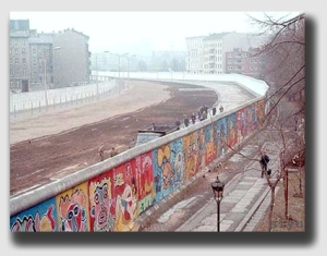 """The Berlin Wall - President Reagan could have said, """"Mr. Gorbachev - tear down this 'spite fence'!"""""""
