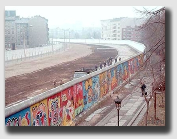 "The Berlin Wall - President Reagan could have said, ""Mr. Gorbachev - tear down this 'spite fence'!"""