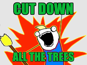 cutdowntrees
