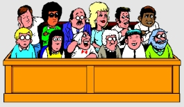Never trust your case to a panel of people who aren't smart enough to be able to get out of jury duty.