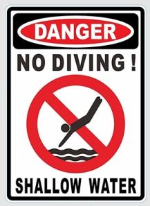 No-Diving