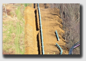 A pipeline runs through it - but how much elbow room was included in the easement?
