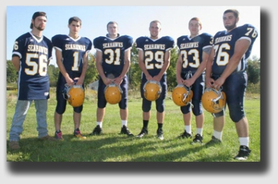 The Boothbay High School (Maine) Seahawks.  They have this Sunday off, too ...