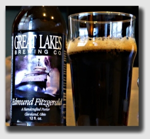 "Drink enough Great Lakes Edmund Fitzgerald - a very good Porter - and you'll be ""wrecked,"" too ..."