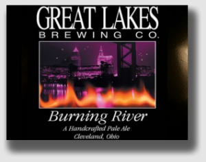 Great Lakes' American pale ale, named for that embarrassing episode in 1969 when the Cuyahoga River burned.