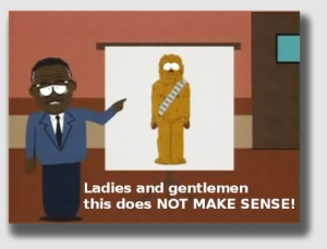 Every good trial lawyer knows how to employ the Chewbacca Defense.