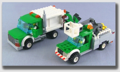 The tree crew we hired seemed sort of smallish, but they had really cool trucks ...
