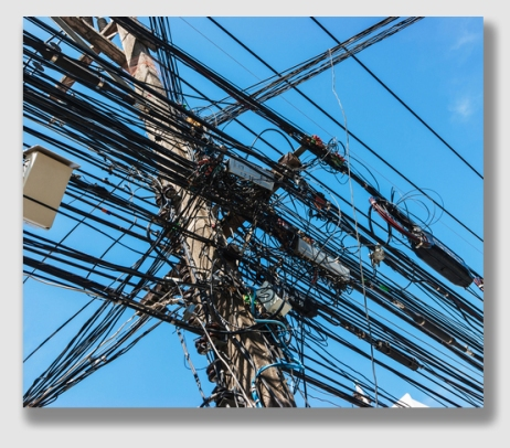 Just because a utility pole on a prescriptive carries one wire doesn't mean that it may carry more than one ...