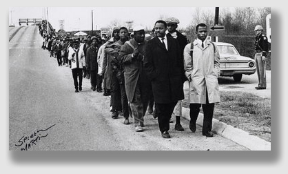 The majestic courage shown by the Selma marchers 50 years ago, as well as by countless others who, by acts large and small, defended the equality we now identify as a bedrock principle of our society and legal system, fortunately cannot be undone by knuckleheads like today's plaintiff.