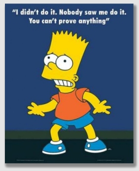 The Bart Simpson defense - they teach it in law school.