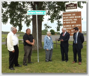 The Tinnes didn't need a formal street dedication ... but if they had actually intended to dedicate the street, it would have helped ...