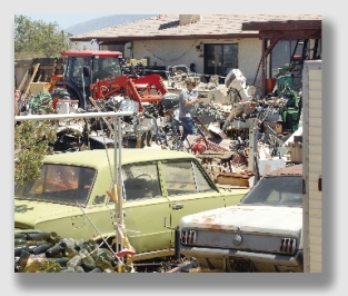 """So an owner's clutter might constitute a """"condition of the land?"""""""