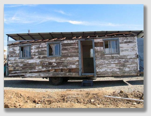 The Coates planned to install their parents in a nice, carefree mobile home.