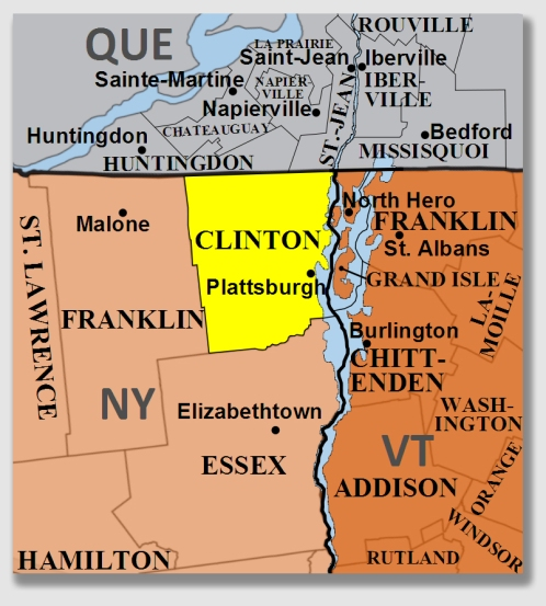Clinton County - pretty far from the Big Apple.