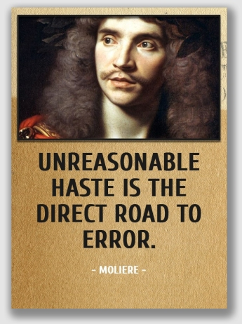 Too bad the Warrens hadn't read a lot of Moliere. He makes a good point.