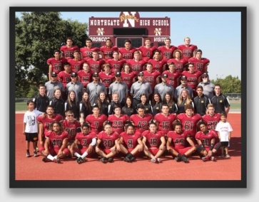 The Northgate Broncos of Walnut Creek, California - a rough bunch - will be sidelined this Sunday, too.