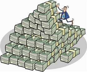 Profits begat profits, Precision Pine argued ... and the pile grows ever larger.